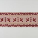 Art-1 arazzo lana pavoncella bordeaux