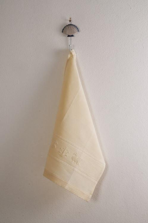 Art-1 canovaccio misto lino pavoncella panna