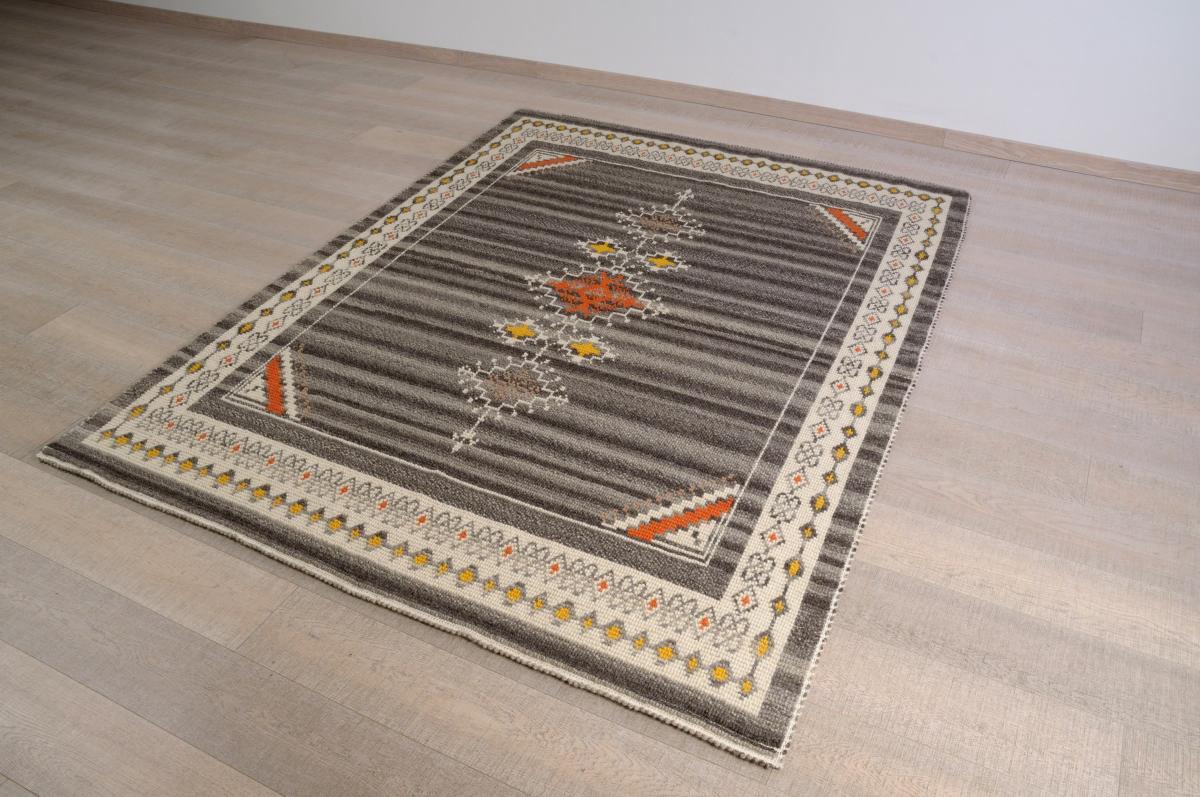 Art-1 tappeto lana tessuto pieno ragno