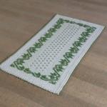 Art-17 tappeto cotone tessuto a rilievo mezza stella