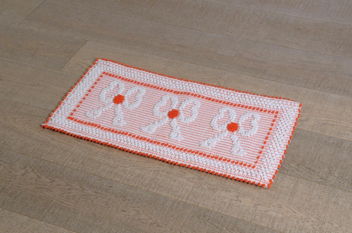 disegno lampadari Tessuto : Home ? Prodotti ? Art-18 tappeto cotone tessuto a rilievo fiocchi