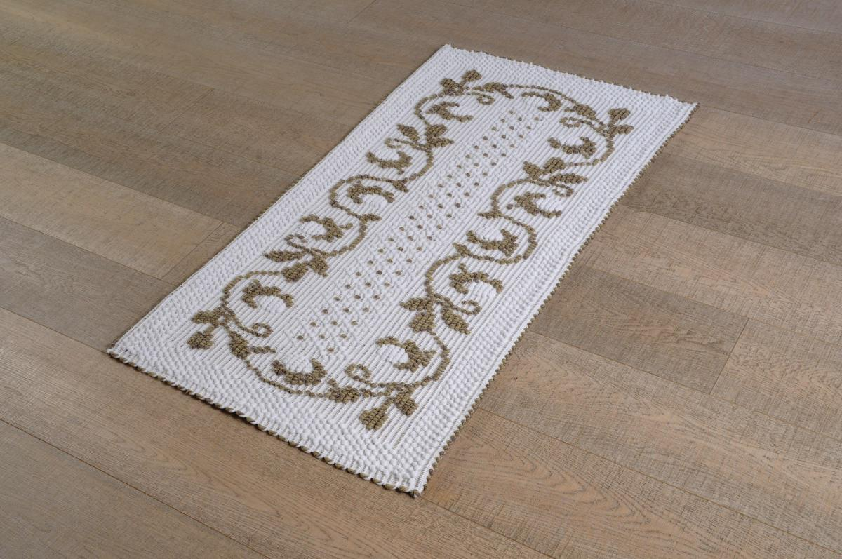 disegno lampadari Tessuto : Home ? Prodotti ? Art-29 tappeto cotone tessuto a rilievo roselline