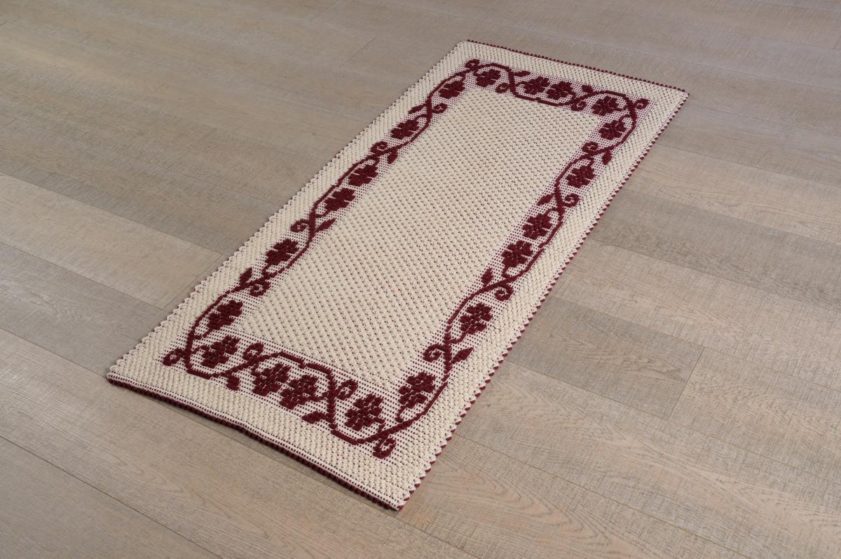 disegno lampadari Tessuto : Home ? Prodotti ? Art-31 tappeto cotone tessuto a rilievo margherite