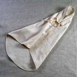 Art-6 accapatoio neonato-a spugna pavoncelle panna
